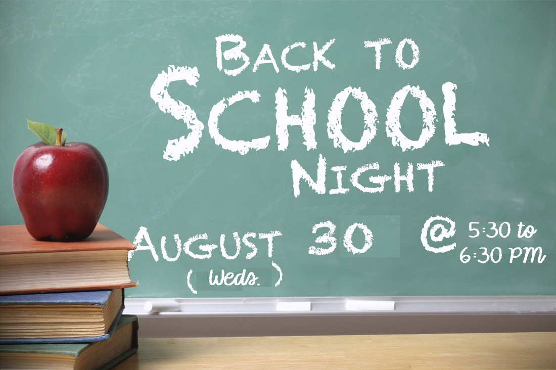 2017-2018 Back-to-School Night